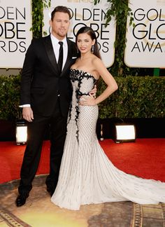 Channing Tatum at the Golden Globes 2014