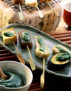 Japanese dish, Dengaku #food