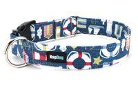 Collier pour chien Ahoï Capitaine www.hopdog.fr