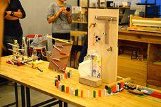 オトナも大好き、ピタゴラ装置を作ろう! | fabcross