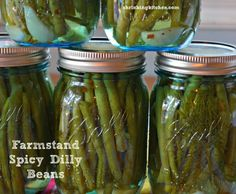 Farmstand Spicy Dilly Beans