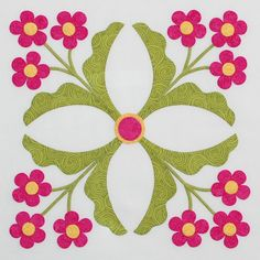 Florabunda Block 10 by erinrussek on Etsy, $2.00