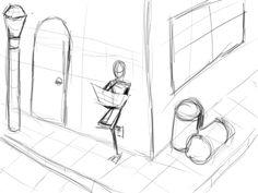 Schets/ Schetsen.  Een schets is een niet uitgewerkte tekening, vaak bedoeld om iets op een eenvoudige manier duidelijk te maken. Het is een vorm van studie.