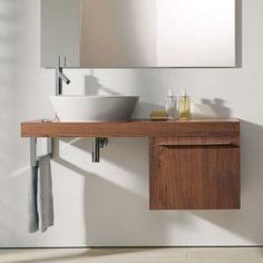 Bathroom base cabinet / wall-mounted FO9542 DURAVIT