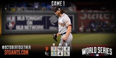 RECAP: #MadBum dominates over seven innings as #SFGiants grab 1-0 lead in #WorldSeries. http://atmlb.com/1DySGhM