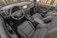 2017 Kia Sportage SX | Interior 2017 Kia Sportage SX US-spec (QL) ' 2016
