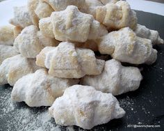 Peach Cookies, Jacque Pepin, Pastry Cake, Vegan Sweets, Biscotti, Vegan Recipes, Dessert Recipes, Food And Drink, Vegetables