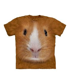 Well, it looks as if a fuzzy little friend decided to make his home on this soft, easy-fitting tee and who can blame him? Its all-cotton construction makes it easily more comfy than any nest of wood chips could ever be!100% cottonMachine wash; tumble dryImported | Printed in the USA