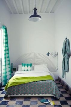 Moroccan-Style Small Bedroom - Small Spaces Design Ideas (houseandgarden.co.uk) by guida