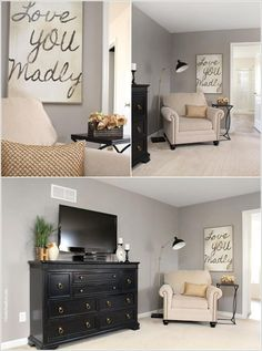 Decorate Empty Corners in Your Home Creatively 6 Bedroom Wall, Bedroom Decor, Bedroom Ideas, Master Bedroom, Room Corner, Corner Space, Living Dining Combo, Bookshelves In Living Room, Comfortable Living Rooms