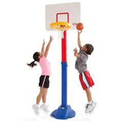 Little Tikes Basketball Sets and Sports Toys Basketball Shoes For Men, Basketball Equipment, Basketball Tricks, Indoor Basketball, Basketball Games, Basketball Players, Ohio State Basketball, Little Tikes, Sports Toys