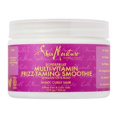Best Curl Definer for Thick or Textured Hair: SheaMoisture SuperFruit Multi-Vitamin Frizz-Taming Smoothie