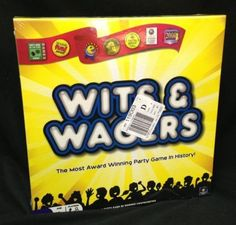 Wits Wagers Party Game Board Family Trivia New SEALED 2009 North Star Yellow | eBay #wits&wagers
