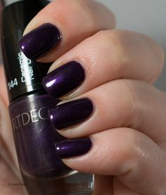 Lacky Corner: ABC Challenge - A = Artdeco 144 Pearly Crystal Lilac