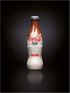 Limited Edition Coca-Cola Light Fashion Bottle by Moschino. Italy, 2009.