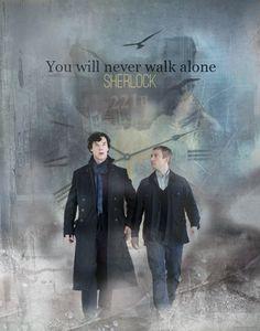 You will never walk alone.