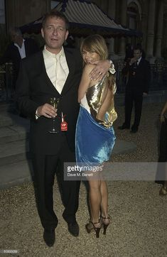 News Photo : Actor Sean Pertwee and wife Jackie Pertwee attend. Sean Pertwee, Sequin Skirt, Sequins, Actors, News, Skirts, Fashion, Moda, Skirt