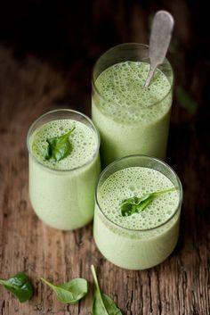 Cold Spinach Feta Soup by Egle Aleks