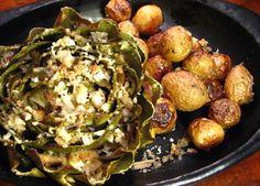 I Carciofi con patate al forno