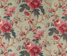 """""""Aquitaine"""" from Borderline Fabrics based on a late 19th Century design and looking bang up to date"""