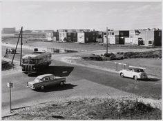 1950's. View of De Cornelis Lelylaan, one of the main roads in the Slotervaart borough in Amsterdam-West. #amsterdam #1950 #CornelisLelylaan