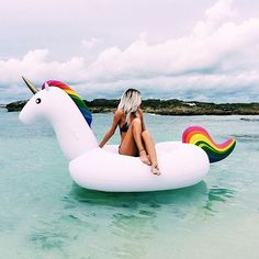 Buy Unicorn Pool Float from Top rated seller. You will have Free worldwide shipping on this item. You may also like the similar items on the link. Go to store and check it out ! - Inflatable Pool Float - Ideas of Inflatable Pool Float Summer Feeling, Summer Vibes, Summer Of Love, Summer Fun, Paulette Magazine, Pool Floats, Foto Pose, Beach Bum, Summertime