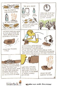 How to Start a Fire with Water Never heard of this. Gonna try.