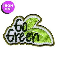 Go Green Fun Patch! Check out all of Girl Scout Fun Patches on PatchFun.com!