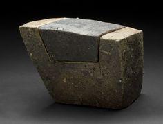 Tim Rowan Untitled , 2005 Fired ceramic 8 x 6 x 6 inches / 20.3 x 15.2 x 15.2 cm / TR 89