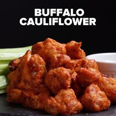 Buffalo Cauliflower maybe without the flour??