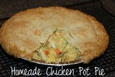 Crafty Allie: Simple, Quick and Easy Homemade Chicken Pot Pie Recipe