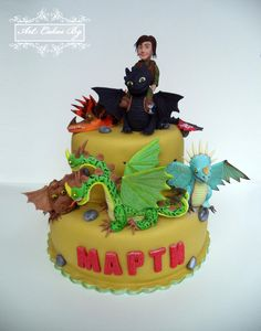 Cake : How To Train Your Dragon 2; Dragons: Riders of Berk ; Dragons: Defenders of Berk.cakecentral.com