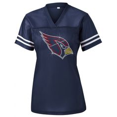 "Personalize ""Cardinals"" Fitted Sport-Tek Ladies Replica Jersey. Ndk2150"