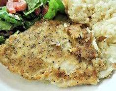 The Ultimate Guide to Icelandic Food Recipes – Baked fish served with rice. Walleye Fish Recipes, Halibut Recipes, Fried Fish Recipes, Seafood Recipes, Cooking Recipes, Grilled Walleye, Grilled Halibut, Baked Fish, Oven Baked