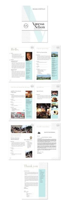 Create a job-winning booklet/porfolio for an Event Manager by bmp design