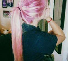 ◇Pastel◇Pink◇  @ http://prettylittlethings.org.uk розовые волосы -  girl  #beautiful hair  swag  art,  разноцветные волосы,  #прямые волосы  #красивые волосы -  розовый цвет