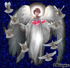 The perfect Lucy Ruiz Animated GIF for your conversation. Discover and Share the best GIFs on Tenor. Heart Pictures, Angel Pictures, Angel Gif, Angel Images, Angel Prayers, I Believe In Angels, My Guardian Angel, Angel Heart, Gifs