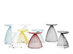 Tabouret en acier enduit de poudre ANGEL by addinterior design Gry Holmskov