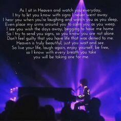 Prince's lyrics were always poetic!