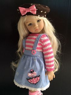 """Outfit for little darling Effner Doll 13"""" 4pc.   eBay!"""