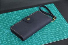 Engraving  iPhone 6 plus wallet case   leather by CollLeatherShop