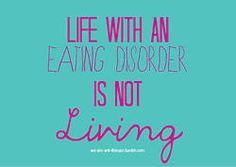 Even when I was at my target weight, I was still not living as I was still in the depths of my #anorexia I could not stay out late as I had to be home for supper; I didn't have the energy to do everything I wanted; I still relied on my mam to make me eat. I lived half a life. Now I am #recovered I can ANYTHING I want. I have lived in France & Australia; I go out partying; I eat out at restaurants; I try new things and I love strawberry laces :)