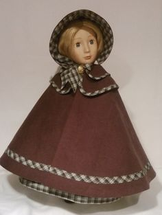 mid 19th Centry Victorian Civil war outfit for a by Gwendollys