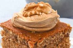 Woman's Weekly espresso and walnut tray bake recipe