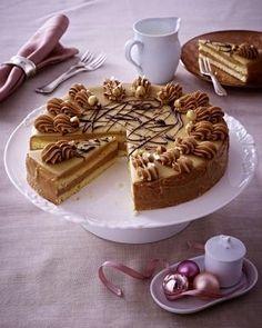 Nougat-Buttercreme-Torte