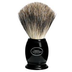 Shaving Brush - Black, $55.00 from The Art of Shaving