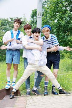 Astro - MJ, MoonBin,.EunWoo & SanHa