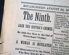 jack the ripper victims - Google Search