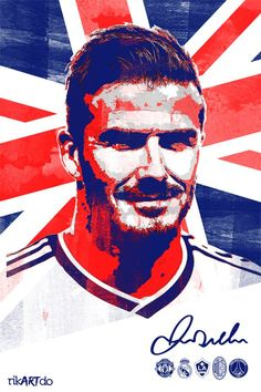 Football Posters by Ricardo Mondragon, via Behance Football Icon, Football Soccer, Football Things, David Beckham Football, Football Accessories, Football Images, Football Pictures, Soccer Art, International Football