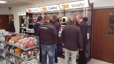 Some customers looking at our SIP section and grabbing some bargains during the opening of Craigmore's new Superstore